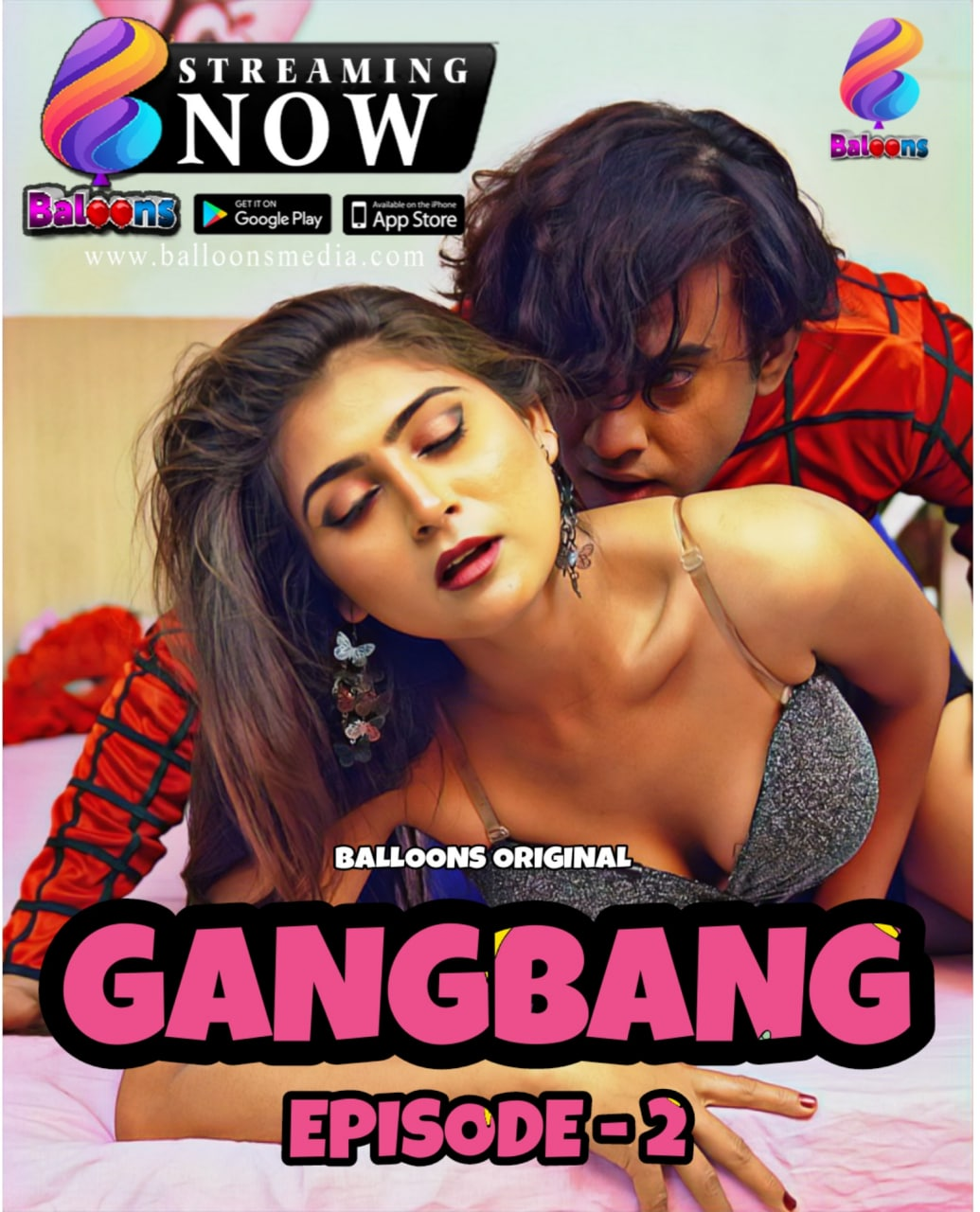 Gang Bang 2020 Balloons Hindi S01E02 Hot Web Series 720p HDRip 250MB Download & Watch Online