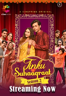You are currently viewing Tinku Ki Suhaagraat 2021 Cineprime Hindi S02E03 Hot Web Series 720p HDRip 100MB Download & Watch Online