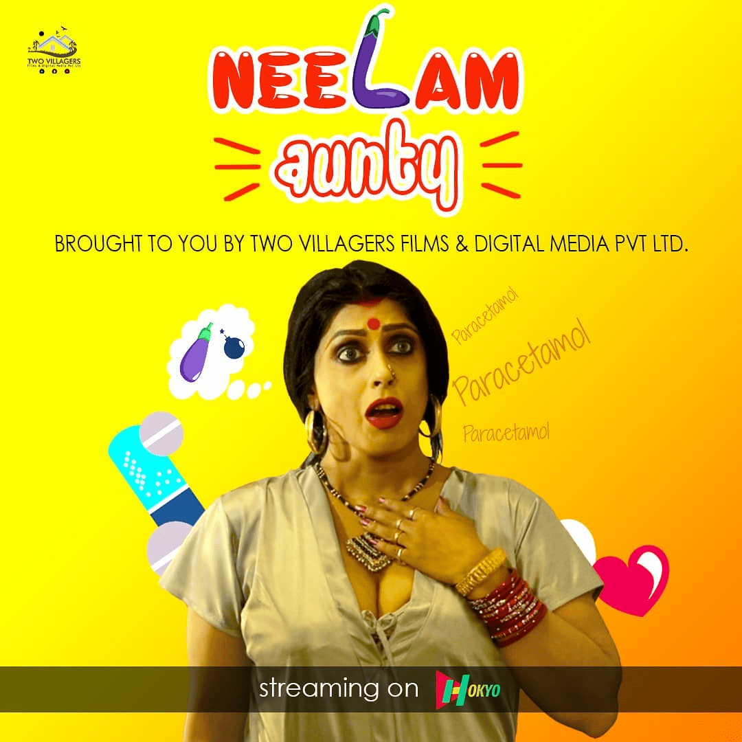 You are currently viewing Neelam Aunty 2021 HokYo Hindi S01E02 Hot Web Series 720p HDRip 100MB Download & Watch Online